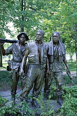 Vietnam Veterans Memorial, Washington D.C., United States of America (U.S.A.), North America