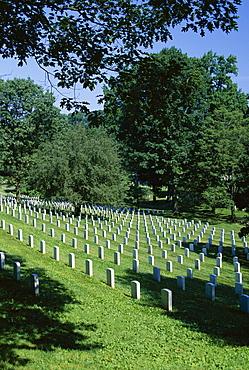 Arlington Cemetery, Arlington, Virginia, United States of America (U.S.A.), North America