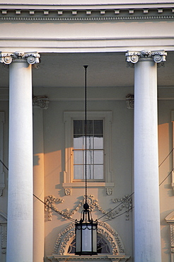 Detail of the White House, Washington D.C., United States of America (U.S.A.), North America