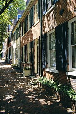 Captain's Row, Alexandria, Virginia, USA, North America