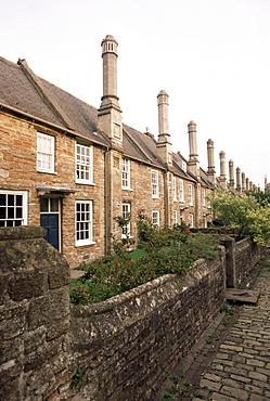 Vicar's Close, Wells, Somerset, England, United Kingdom, Europe