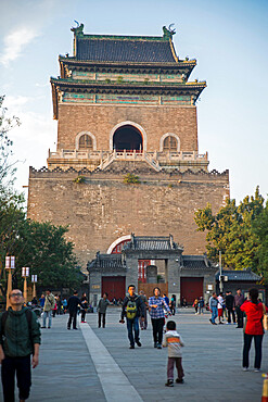 Bell Tower, Beijing, China