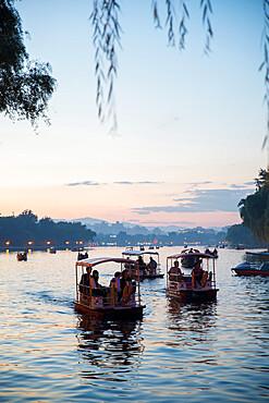 Shichaha lake, Xicheng district, Beijing, China, Asia