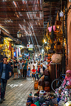 Shop in the souk, Medina, Marrakech, Morocco, North Africa, Africa