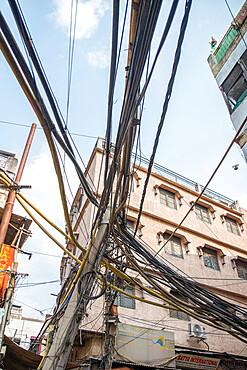 Street scene, Chandni Chowk, Old Delhi, India