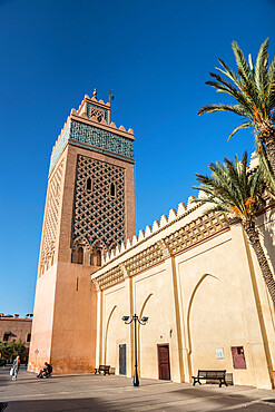 The Kasbah Mosque, Marrakech, Morocco, North Africa, Africa