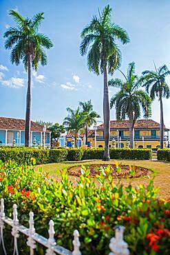 Casa de Aldeman Ortiz, Plaza Mayor, Trinidad, UNESCO World Heritage Site, Sancti Spiritus, Cuba, West Indies, Central America