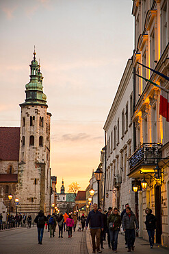 Church of St Andrew, Krakow, Poland