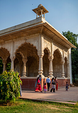 Red Fort, UNESCO World Heritage Site, Delhi, India, Asia