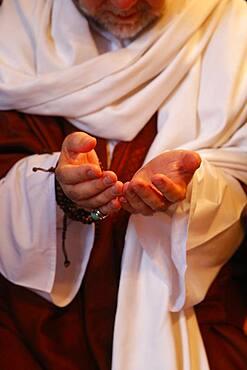 Naqshbandi Sufi praying.