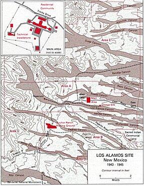 Manhattan Project, Los Alamos