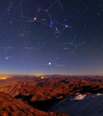 Night Sky, Zagros Mountains, Iran
