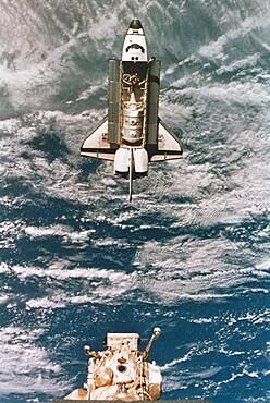 STS-71, Space Shuttle Atlantis, 1995