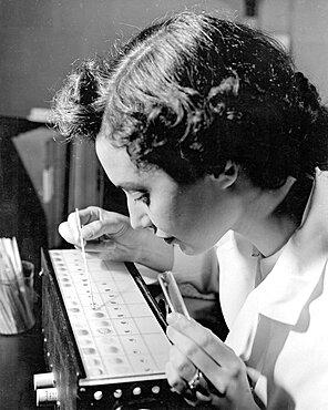 Blood Bank, Blood Typing, 1957
