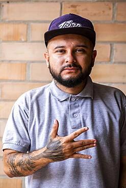 Kabala, cultural manager, Comuna 13, Medellín, Colombia
