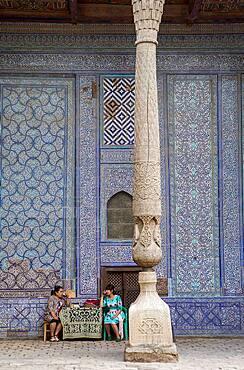 Courtyard of Tosh-Hovli Palace, Khiva, Uzbekistan