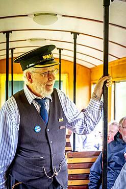 Inspector, Llanfair and Welshpool Steam Railway, Wales