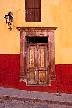 Door; San Miguel de Allende, Mexico.