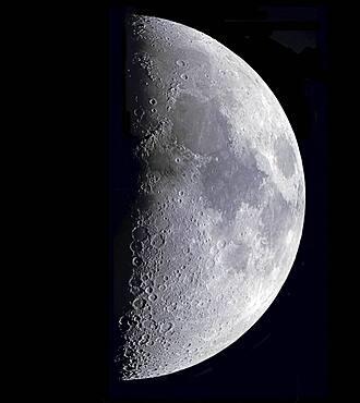 Quarter Moon, April 1993