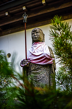 Statue in the streets of Koyasan, Japan
