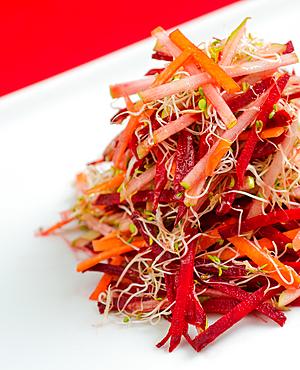 veggie red salad