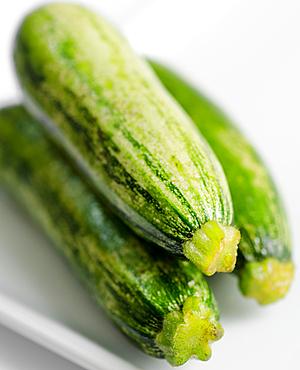 zucchini in a macro shot