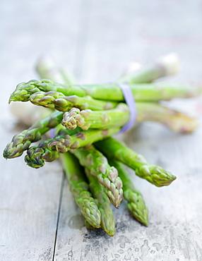 aspargus on a table