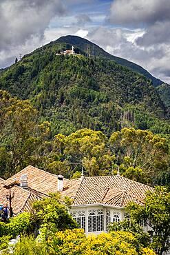 Cerro de Guadalupe, from Cerro de Monserrate, Bogota, Colombia