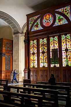 Inside the Cathedral, Plaza Murillo, La Paz, Bolivia