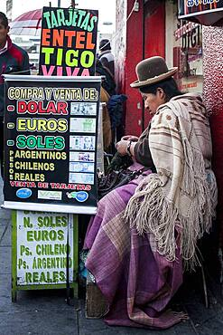 Change house, La Paz, Bolivia