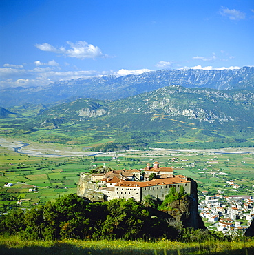 Monastery of St. Stephen, Meteora, Greece, Europe