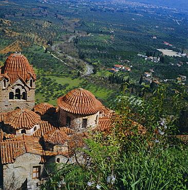 Pantanassa Monastery, Mistras, Greece, Europe
