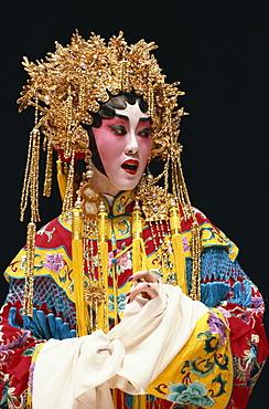 Chinese stage opera, Cheung Chau Island, Hong Kong, China, Asia
