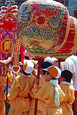 Annual Bun Festival in April-May on Cheung Chau Island, Hong Kong, China, Asia
