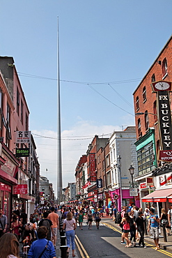 The Spike, a new landmark in the middle of the shopping centre in Dublin, Republic of Ireland, Europe