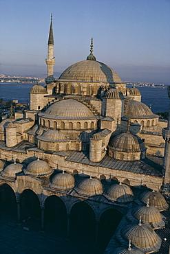 Sultan Ahmet I Mosque (The Blue Mosque), UNESCO World Heritage Site, Istanbul, Turkey, Europe