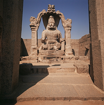 Narashima, Hampi, Karnataka, India, Asia