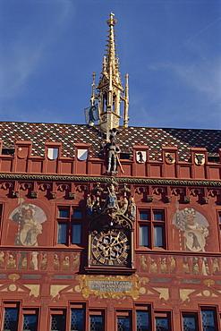 Town Hall, Basle, Switzerland, Europe