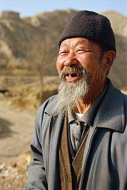 Chinese farmer, Gansu, China, Asia