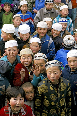 Strong Muslim or Hui presence, Gansu province, China, Asia