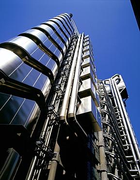 Lloyd's of London, architect Richard Rogers, City of London, London, England, United Kingdom, Europe