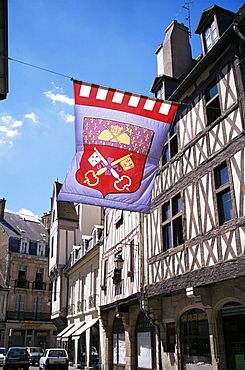 In the old town, Dijon, Burgundy, France, Europe