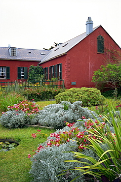 Longwood House, where Napoleon was exiled between 1815 and 1821, St. Helena, Mid Atlantic