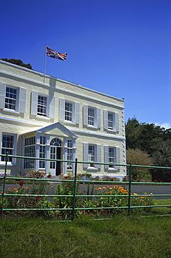 Plantation House, the Governor's residence, St. Helena, Mid Atlantic