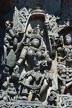 Hoysaleswara Temple, Halebid, near Mysore, India, Asia - 2-15375