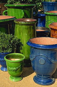 Pots from Provence, Cote Soleil garden centre, Almancil, Portugal, Europe