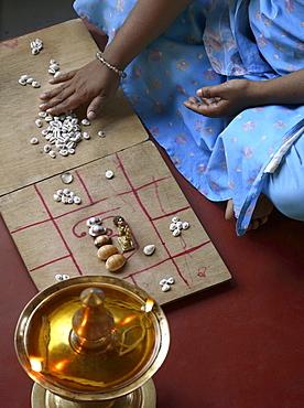 Astrologer at AVC Hospital in Kerala, India, Asia
