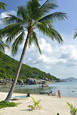 Beach scene, Ko Samui, Thailand, Southeast Asia, Asia