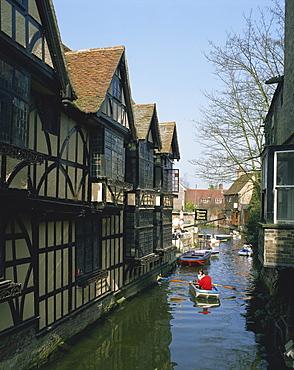 Old Weavers, Canterbury, Kent, England, United Kingdom, Europe
