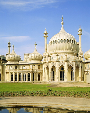 The Royal Pavilion, built by the Prince Regent, later to become King George IV, Brighton, East Sussex, England, UK